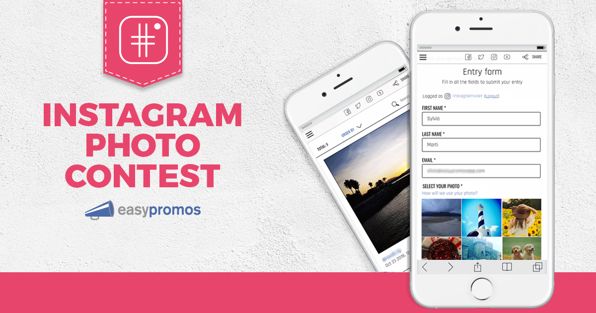 Instagram Photo Contest - Create promotions and contests